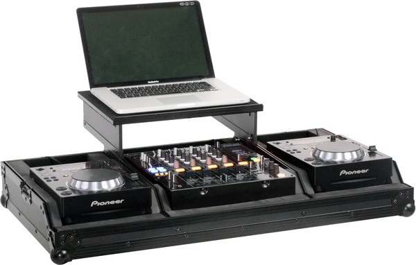 "Zomo Set 200 Plus NSE - Flightcase 2x CDJ-200 + 1x 12"" Mixer + Notebook_1"