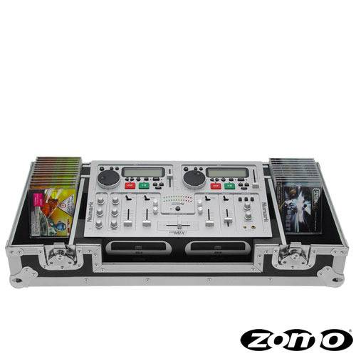 Zomo Flightcase CDM-2 for 1x/Mixer CDMIX_1