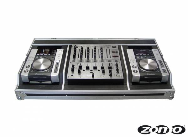 Zomo Flightcase Set 200 for 2x CDJ-200 + 1x DJM-600/700/800_1