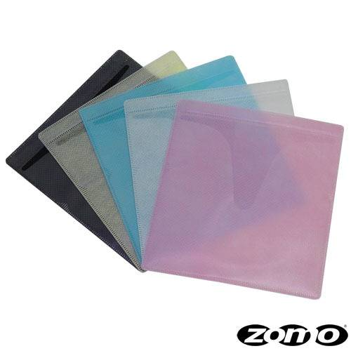 Zomo Slide-In CD/DVD Soft Pockets mixed colours (100 pieces)_1
