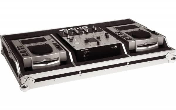 "Zomo Set 100 MK2 - Flightcase 2x CDJ-100 + 1x 10"" Mixer_1"