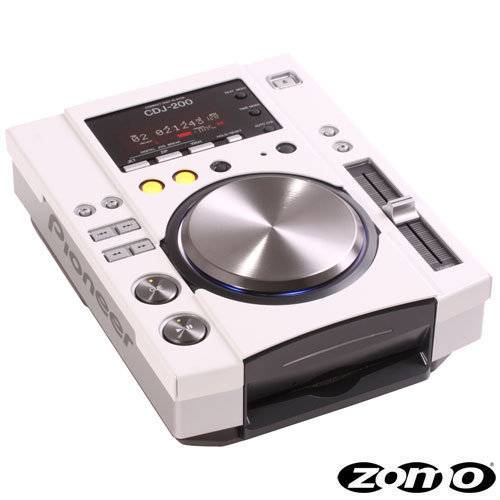 Zomo Faceplate Twin CDJ-200 white (1 pair)_1