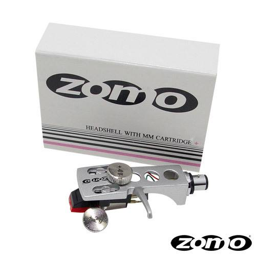 Zomo Headshell + Zusatzgewicht + Zomo 1010 Cartridge silber_1