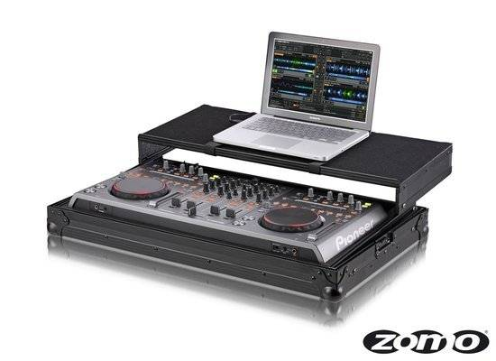 Zomo Flightcase P-DDJ Plus NSE for 1 x Pioneer DDJ-S1/T1 + Laptop_1