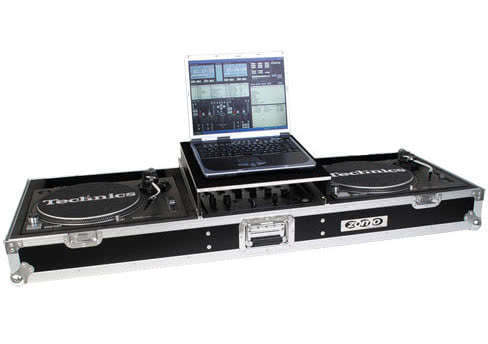 Zomo T-600 Plus - Flightcase 2x Turntables + 1x DJM-600/700/800_1