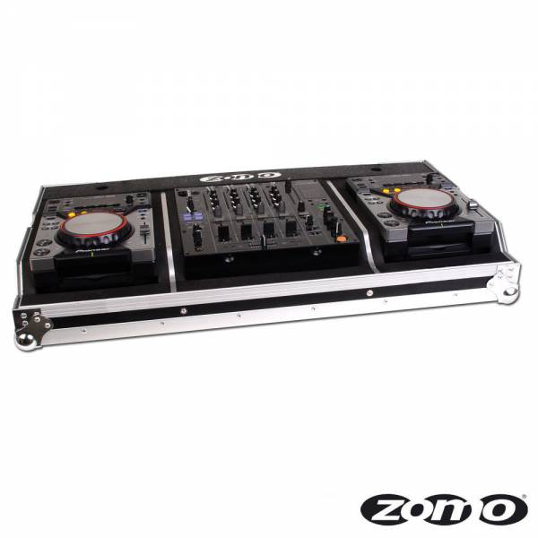 Zomo Flightcase Set 400 MK2 for 2x CDJ-400 and 1 x 12?_1