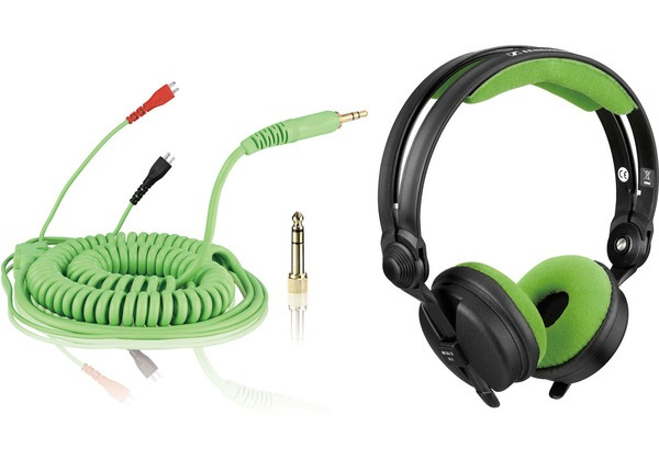 Bundle: HD 25 Kabel DeLuxe 3,5 m + Polsterset Velour - mint_1