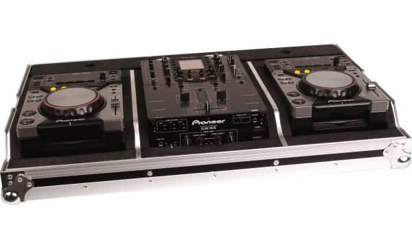 "Zomo Set 400 - Flightcase 2x Pioneer CDJ-400 & 1x 10"" Mixer_1"