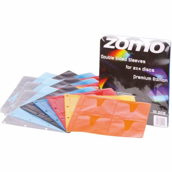 Zomo CD Sleeve 10 x 8 CDs Premium Edition_1