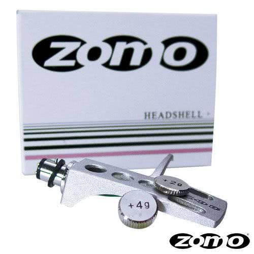 Zomo Headshell + Zusatzgewicht silber_1