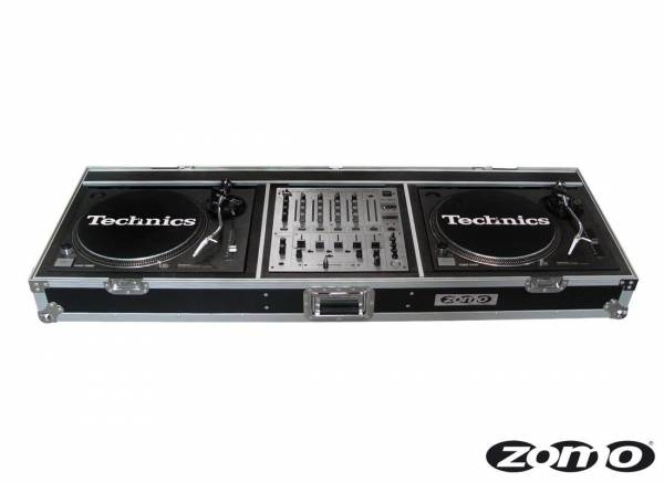 Zomo Flightcase T-600 for 2x Turntable + 1x DJM-600/700/800_1